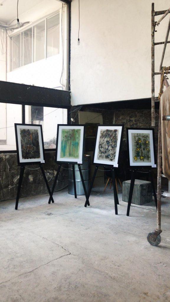 Arte abstracto Exposicon galeria